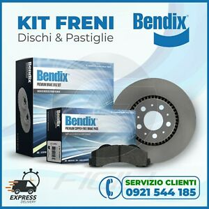 DISCHI FRENO E PASTIGLIE Bendix ® ALFA ROMEO 147-156 GT MULTIPLA ANTERIORI