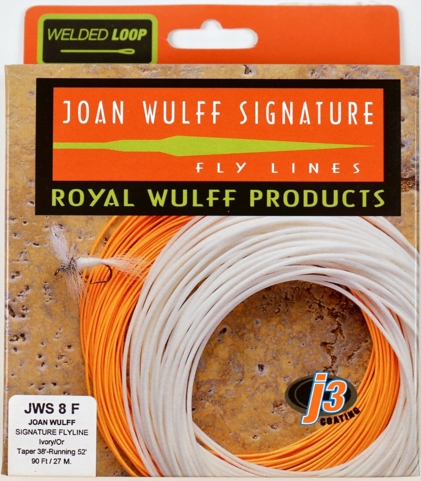 Royal Wulff Joan Wulff Signature 8 WT Floating Fly Line Free Shipping JWS8F
