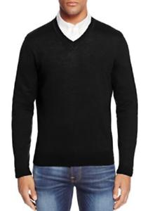 Bloomingdale's lana hombres de tienda suéter con el S en de La de 88 de cuello Merino 884915497397 pico los talla wAdqtZx7