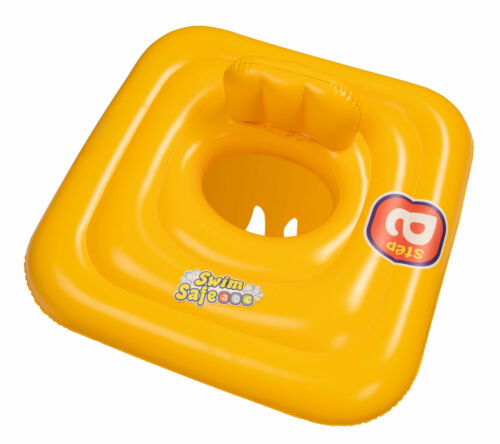 Swim Safe Square Baby Support Swiming Aid Pool Ring Trainer Seat 0-1 Years 32050