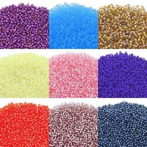 Toho-Glass-Japenese-Seed-Beads-Size-11-0-2-2mm-Over-80-Colours-10-grams