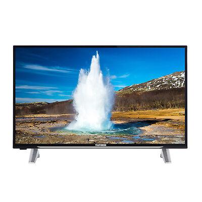 Telefunken D32F278X4CWI 81 cm 32 Zoll Fernseher Full HD, Smart TV, Triple Tuner