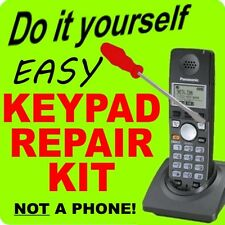 REPAIR KIT Panasonic Keypad Button Fix KX-TGA670B KXTGA670B KX-TG6700B TG6702B