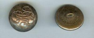 Bouton Livrée - Aux Initiales Mb Ou Mbj Lorgnie Cercle 1869 Paris Rare D=28,5 Gagner Une Grande Admiration
