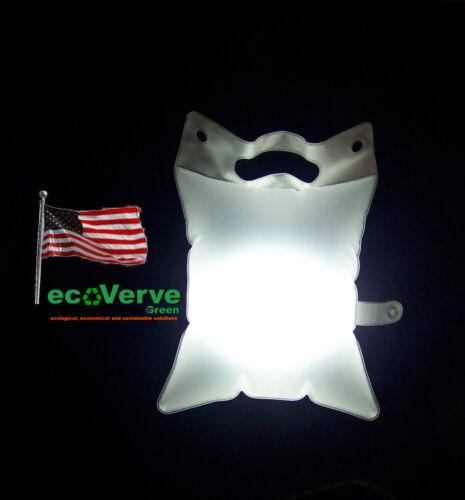 LuminAID PackLite 16 Inflatable Waterproof Solar Lantern LuminAID Light V2b