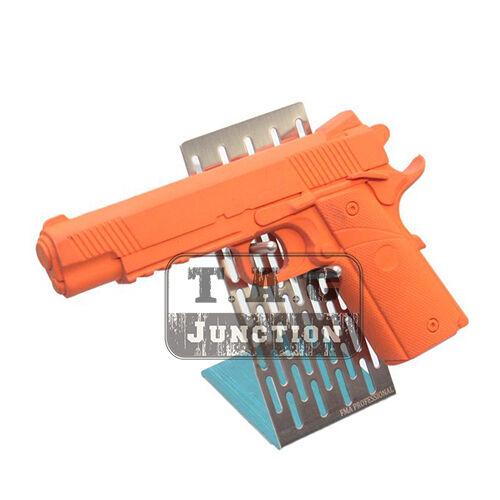 Tactical Stainless Steel Modular Handgun Pistol Gun Stand Display Rack Holder