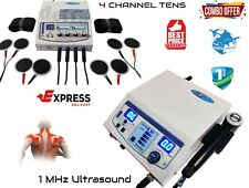 1mhz Ultrasound Therapy Machine And Four Channel Electrotherapy Machine Combo Of