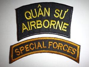 2 Guerre Du Vietnam Correctifs- Quan Su Airborne Advisor + Forces Spéciales wXNvWMP0-09112744-321447679