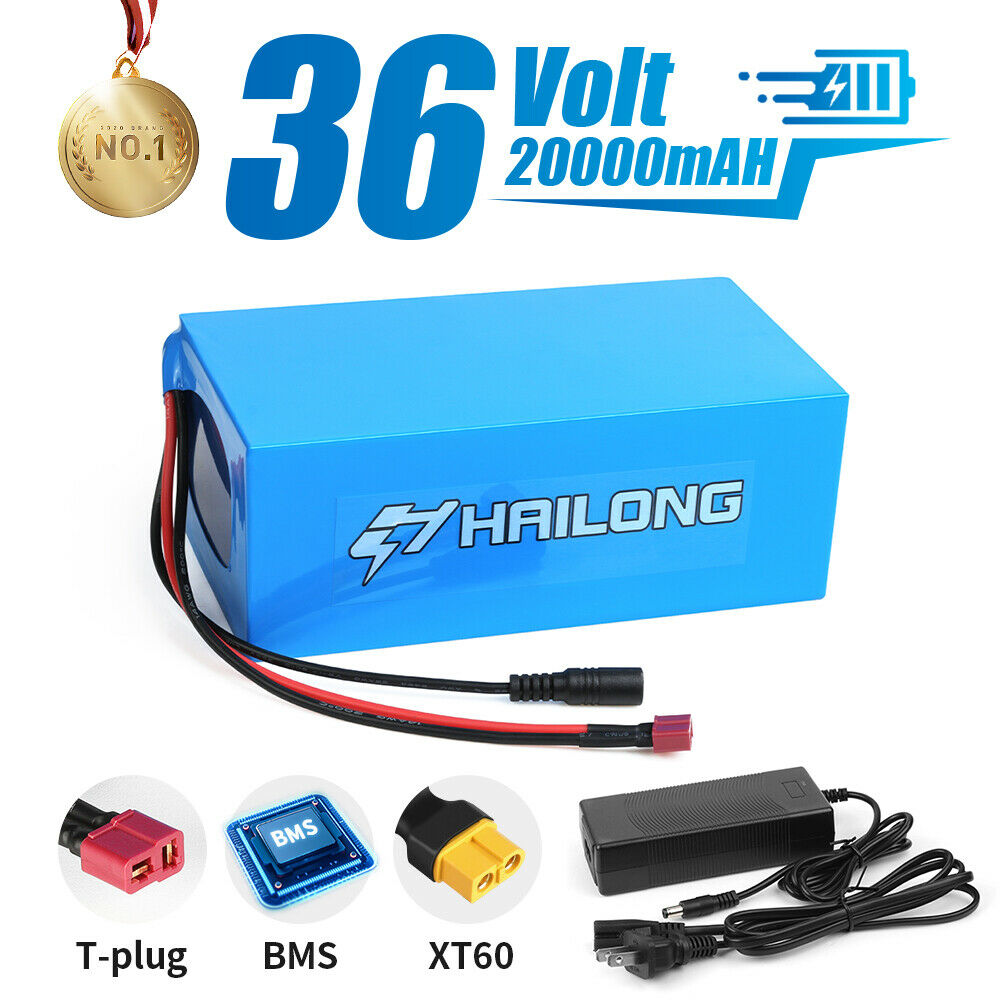 (NY Warehouse) 36v 20ah Ebike lithium battery Electric Bike Battery & Charger