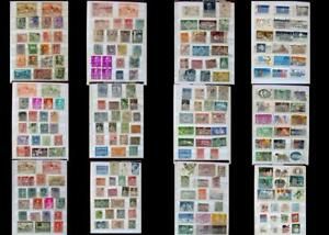 Stamp Collection Spain Portugal Greece & The United States, Free Shipping