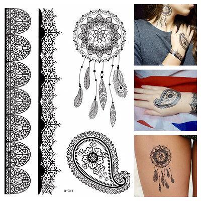 GOLD Tattoo Flash Tattoos Einmaltattoos Ornamente Tribals Armbänder YS-46