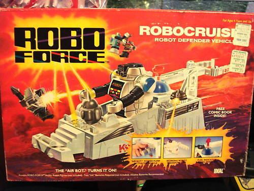 1984 Robo  Force Robo Cruiser Robot Defender Vehicle  Sconto del 60%