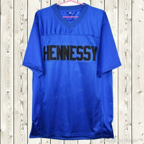 Prodigy #95 Hennessy Queens Bridge Movie Stitched Football Jersey Blue NWT