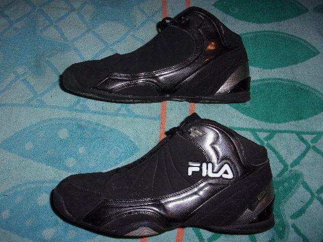 FILA DLS FOAM BLACK Hi Top SHOES MEN'S SIZE 12   12    1SB054FX-015 807d8b