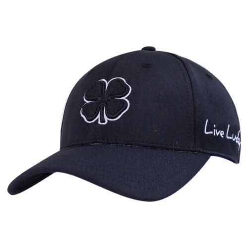 610563147861 Black Clover Mens Premium Clover #2 Black//White L//XL Fitted Hat