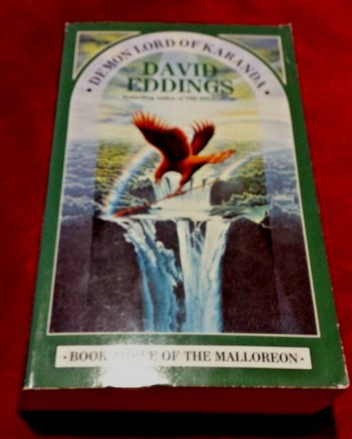 Demon Lord of Karanda by David Eddings (Paperback, 1989)