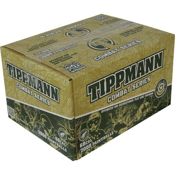 Tippmann Combat paintballs 2000  pezzi  ultimi stili