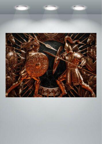 Total War Troy Roman Mural Large Poster Art Print A0 A1 A2 A3 A4 Maxi