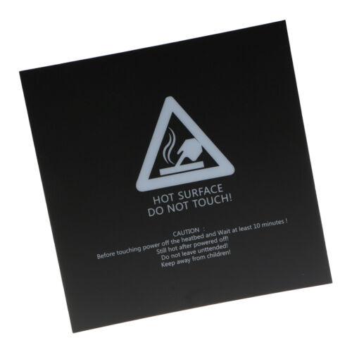 zero profit 3D Printer Parts Hot Bed Build Surface Sticker ...