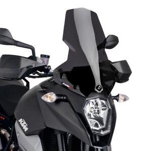 KTM-990-SUPERMOTO-SMT-2009-gt-2012-BULLE-PUIG-FUME-FONCE-TOURING-SAUTE-VENT