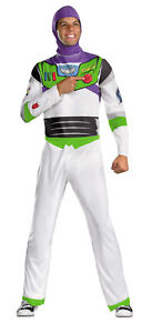 Buzz Lightyear Classic Adult Costume Disney Toy Story Astronaut Space Disguise