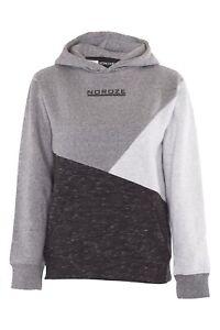 Boys-Kids-Contrast-Fleece-Sweatshirt-Hoodie-Long-Sleeve-Top-Pullover-Sweater
