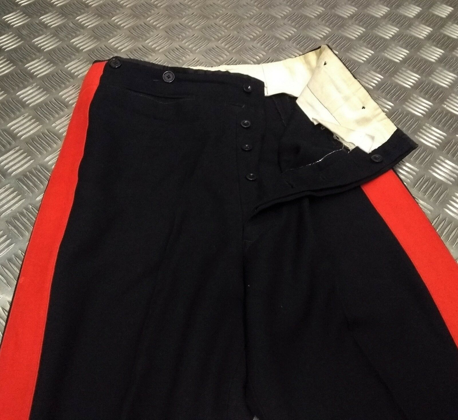 Genuine Vintage British Military Issued No1 Ceremonial Dress Trousers W32