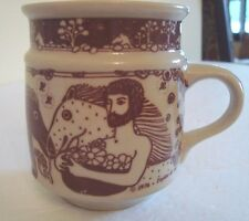 VINTAGE TAYLOR & NG MAN HORSE MUG Centaurs Greek Mythology  JAPAN