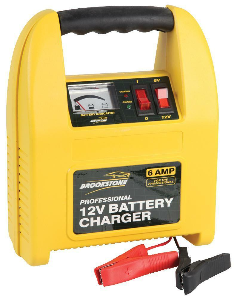 BATTERY CHARGER 12V 6A PROFESSIONAL - BR330520