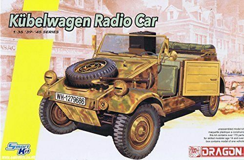 Dragon 1 35 scale WW2 German KUBELWAGEN RADIO CAR