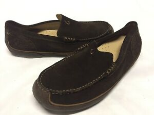 7d575e16951 Olukai M s Lokahi Men s Loafer Slip On Brown Suede Driving Shoes US ...