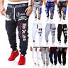 New Men's Casual Pants Jogger Dance Sportwear Baggy Slacks Trousers Sweatpants v