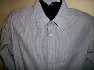Men's Brooks Brothers Long Sleeve Button Down Striped Dress Shirt Size 16-3