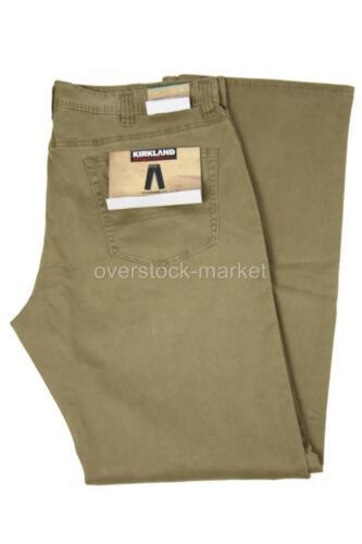 Variety Size Color! New Men/'s Kirkland Signature 5 Pocket Brushed Cotton Pant