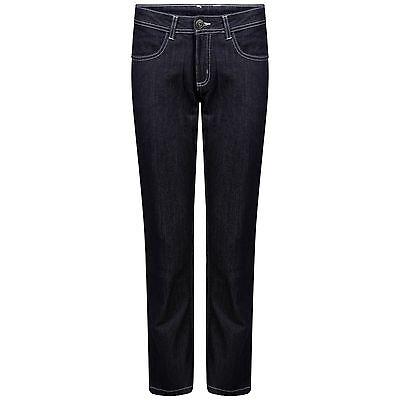 Ladies Indigo Long Straight Leg Womens Denim Stetch Blue Jeans