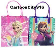 Disney Frozen Elsa Anna Set Of 6 Loot Bags Party Bags Gift Bags Set