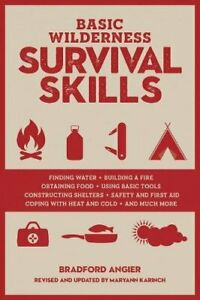 BASIC WILDERNESS SURVIVAL SKILLS, REVISED AND UPDATED By Bradford Angier *VG+*