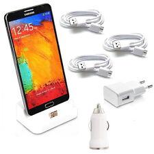 Ladegerät für Samsung Galaxy S5 Dockingstation Kabel USB Ladekabel Netzteil KFZ