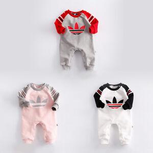 575f170ff Baby Newborn Boy Girl Winter Wool Thicken Romper Toddler Infant Warm ...
