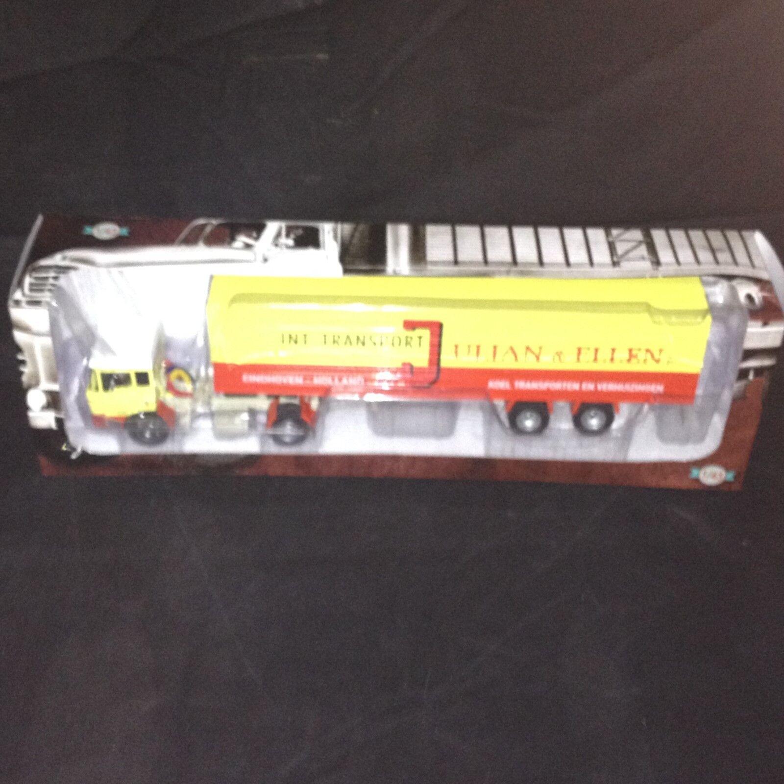 LKW DAF 2600 JULIAN & ELLEN - IXO ALTAYA 1 43 LASTWAGEN TRAILER (EB40)