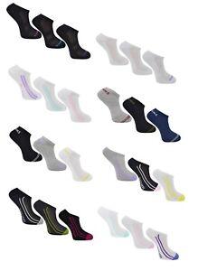 ba8705603b6a Image is loading Ladies-Skechers-Athletic-Trainer-Liner -Sport-Cushioned-Socks-