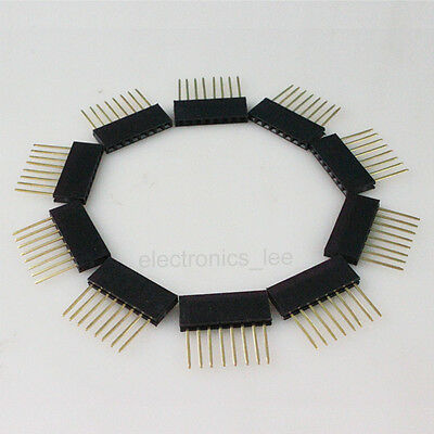 100pcs 8 Pin Female tall stackable Header Connector socket for Arduino