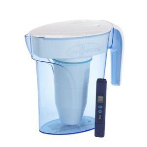 Zero Water 7 Tazza Filtro Acqua Tavola Brocca Caraffa