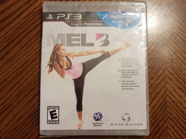 NEW PS3 GET FIT WITH MEL B GAME