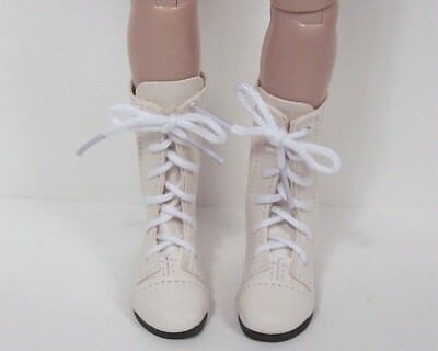 GRAY Lace Up Zipper Boot Doll Shoes For 14 Kish Chrysalis Lark Wren Piper Debs