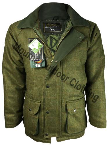 Mens Eirinn Country Wear Teflon Derby Tweed Jacket Hunting Shooting Coat