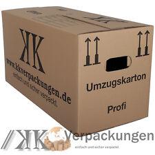 15 neue UMZUGSKARTONS UMZUGKARTONS 2 Wellig UK 45kg 2.2