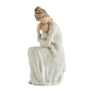 Willow-Tree-For-Always-Figurine-27596-Mother-amp-Baby-in-Branded-Gift-Box