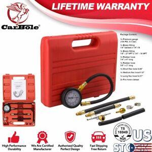 0-100-PSI-Test-Pressure-Gauge-Gasoline-Kit-Fuel-Injection-Pump-Injector-Tester