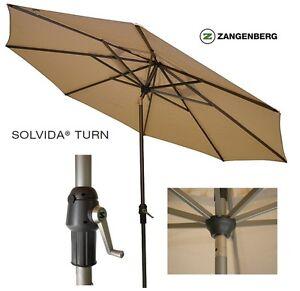 Zangenberg-Kurbelschirm-SOLVIDA-TURN-270cm-Auto-Knick-Balkonschirm-65227-beige